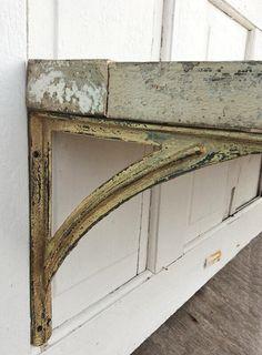 cast iron shelf brackets rustic barnyard large by