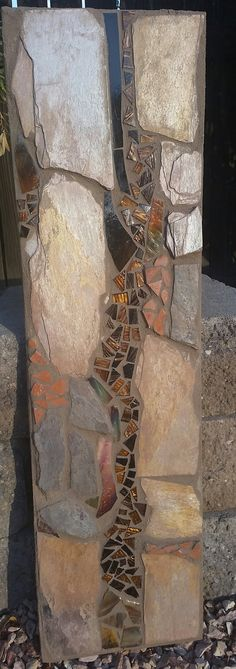 Hey, I found this really awesome Etsy listing at https://www.etsy.com/listing/246750652/mosaic-wall-hanging-with-sedona-slate