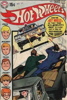 Hot Wheels Comic Book / #3