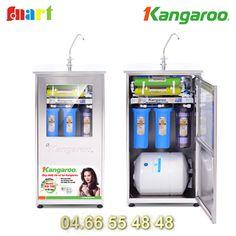 Máy lọc nước Kangaroo chính hãng 8 lõi lọc - Không vỏ tủ KG108 - Phiên bản máy 2013