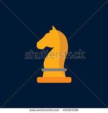 Αποτέλεσμα εικόνας για flat design chess horse