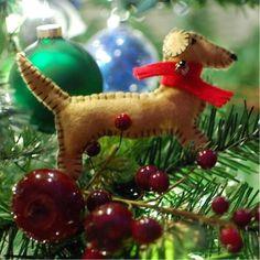 dachshund felt ornament tutorial by spabettie, thanks so for lovely share xox