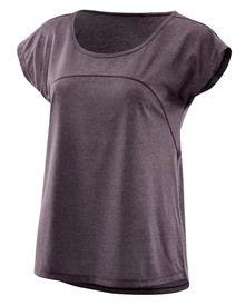 Skins Plus Code Cap Sleeve Tee Women's in Haze Marle