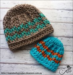 Mamma That Makes: Free Crochet Pattern for preemie and newborn sizes