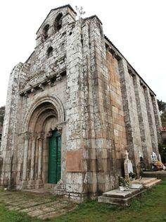 1000 Lugares en Galicia: Iglesia Románica de Astureses, en Boborás. Provinc...