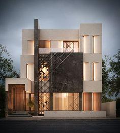 New House Facade Architecture Dream Homes Ideas Villa Design, Facade Design, Modern House Design, Exterior Design, Facade Architecture, Residential Architecture, Beautiful Architecture, Architect House, Architect Logo