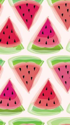 Freebie - Watermelon Wallpaper: