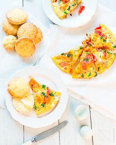 Hiszpański omlet zwarzywami