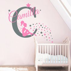 Monogram Wall Decals Personalized Custom Name Sport Bike - Monogram wall decal for kids