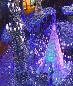 Tokyo, Shiodome Caretta Winter Illumination 2018.  #japantrip