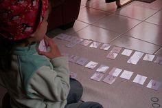 Montessori chez les petits pois - association minuscules & majuscules