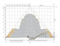 Piramide de Meidum. Snefru IV Din. Reino Antiguo. Primera pirámide de las tres que se hace construir este faraón.  El proyecto inicial era una pirámide de siete escalones, ampliados posteriormente a ocho.   Se levantó primero un edificio central parecido a una torre con los lados inclinados hacia dentro. Era el núcleo y escalón superior de la piramide. Es como si se contruyese de arriba a bajo. Se intentó construir una piramide de caras lisas recubriéndola de una capa de caliza de Tura.