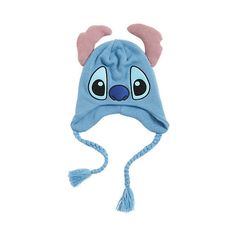 Disney Lilo & Stitch Character Beanie   Hot Topic ($9.59) ❤ liked on Polyvore featuring accessories, hats, beanies, lilo and stitch, embroidered knit hats, beanie cap, beanie cap hat, knit hat and disney