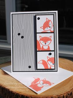 Sherry's Stamped Treasures: Foxy Friends Bundle by Stampin' Up!