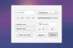 Helvetinut UI Kit by brtdv on @creativework247