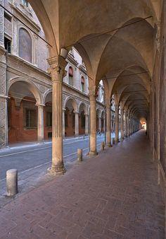 I portici di Bologna visti da Claudio Alba: Portico_di_San_Giacomo