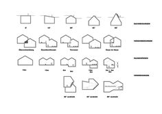 VitraHaus, H, form studies