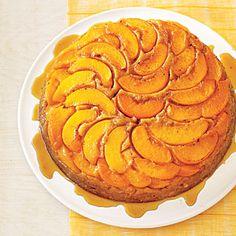 Upside-Down Cakes | Peach Upside-Down Cake | MyRecipes.com