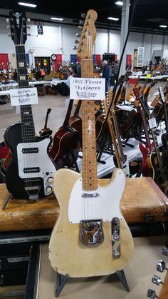 1955 Fender Telecaster #Guitar @fender