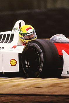 Ayrton Senna Mclaren Honda 1988