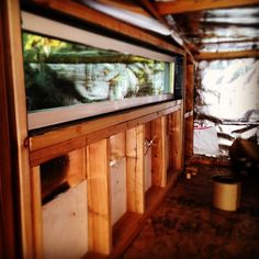 Thanks to the generous donations I have received so far I was able to put this window into the loft. ;) #TCCS #TinyHome http://ift.tt/1eyCsNL