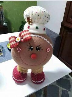 Clay Ornaments, Felt Christmas Ornaments, Christmas Candy, Vintage Christmas, Christmas Gifts, Christmas Decorations, Gingerbread Crafts, Snowman Crafts, Christmas Gingerbread