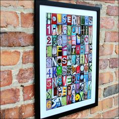 New in the shop  HOUSE RULES or The RULES Alphabet Photography color print  by FrittsCreative, $24.50