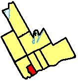 Location of Ajax in Durham Region