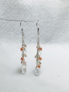 A personal favorite from my Etsy shop https://www.etsy.com/listing/223836291/cascading-swarovski-rose-pearls-and