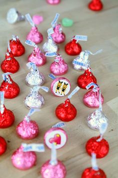 DIY Hershey Kiss Emoji Memory Game with Free Printables in Two versions of the game: Valentine's + Galentine's! The Glitter in my Tea for dawnnicoledesigns.com