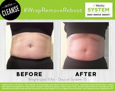 """Step 2 of the It Works! System is REMOVE!  Reset and rebalance your system with It Works! Cleanse while you remove """"bad"""" foods from your diet and replace with healthy foods."""