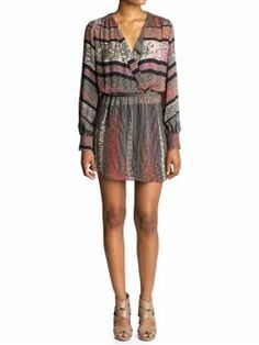 this so reminds me of my mother's dresses from her youth. definite want. parker, multi square dress, $242. i even already have the DV pali's to match!