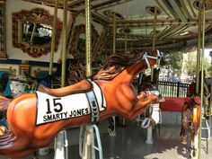 Meet Smarty, Smarty Jones. He'd love to see you all at Franklin Square for a ride on the Philadelphia Park Liberty Carousel, this Thursday, July 25, 2013 for National Carousel Day. Buy one ticket and get one FREE!  Visit our Facebook Page for more info.