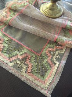 Swedish Weaving Patterns, Swedish Embroidery, Bargello, Needlepoint, Elsa, Bohemian Rug, Decor, Bird Embroidery, Gingham