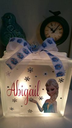 Check out this item in my Etsy shop https://www.etsy.com/listing/245372382/personalized-glass-block-light-featuring