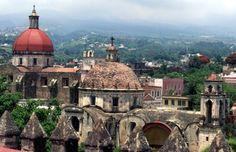 Beautiful Cuernavaca in the State of Morelos Mexico