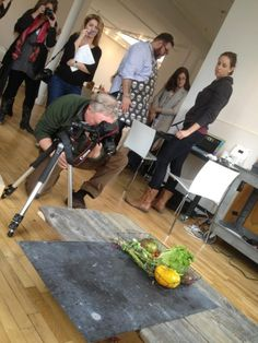 First shot of the day at the #sweetpaul food styling and photography workshop