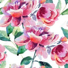 watercolor seamless pattern - Google Search