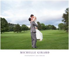 June Wedding at the Country Club of Pittsfield in Massachusetts :: Berkshire Wedding :: Portrait of the bride and groom at sunset kissing :: Michelle Girard Photography and Design