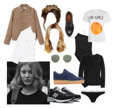 """""""Køb"""" by mariaskovbjerg ❤ liked on Polyvore featuring Ray-Ban, Theory, Calvin Klein, New Balance and NIKE"""