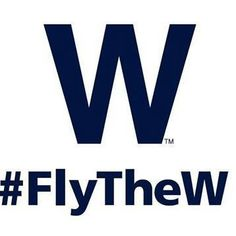 Fly The W Decal Chicago Cubs/ Cubbie/ 2016 World Series Winners Champ/ Baseball MLB / Notebook Laptop/ Full Color High Def