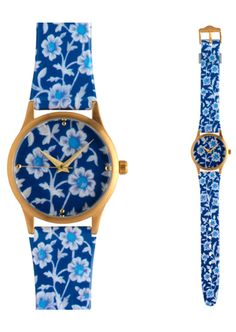 Ottoman Floral Watch, $70, available at The Metropolitan Museum of Art Store, 1000 Fifth Avenue (at 82nd Street); 212-570-3894).