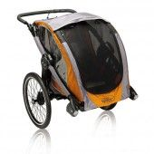 $500 switches from stroller to trailer to jogger.   Baby Jogger Pod Chassis (Orange)