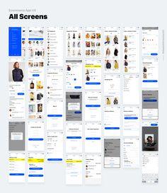 E-COMMERCE APP on Behance Android Design, App Ui Design, Interface Design, Ecommerce App, Design Thinking Process, Mobile Web Design, Splash Screen, App Design Inspiration, Mobile App Ui
