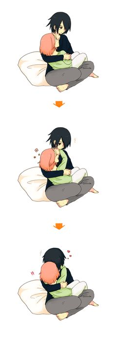 Sasuke x Sakura #naruto