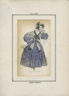 Ladies' Cabinet v. 16, plate 9 June, 1835