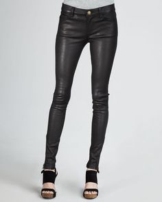 Buy Skinny leather pants for women by Hides & Fur