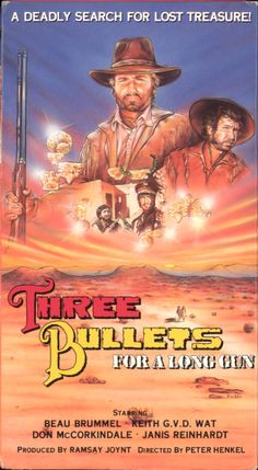 Three Bullets... for a Long Gun (1971) PG | 1h 29min |  January 1975 (USA) - Nobody knows his true name, but everybody knows he is the Major, and that when he wants something, he gets it. Under his beaten officer cap, the retired officer has an ingenious brain, so he plans everything with strategy and long range vision.