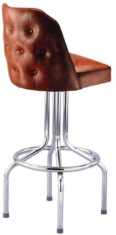 Tufted Diner Bar Stool | BarStoolsandChairs.com