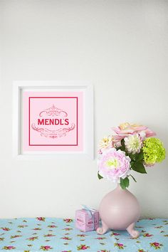 Grand Budapest Hotel Mendl's Art Giclee Print by chamelledesigns, $19.99